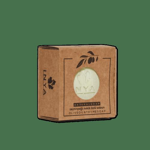 Germencik Belediyesi İnya Kekik Özlü Zeytinyağı Sabunu +/- 150 gr Kraft Paket